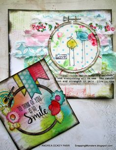 Monday Challenge: Create Something Beginning With The Letter 'N' | Simon Says Stamp Blog