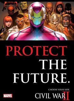 Protege el futuro - Iron Man