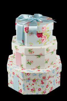 Floral Hatboxes~