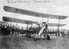 Captured Sopwith Triplane