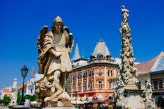Statues in Kosice, Slovakia