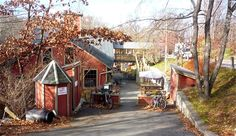 Montague Bookmill, Montague MA: http://visitingnewengland.com/blog-cheap-travel/?p=4691
