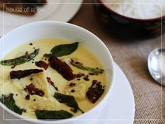 Pineapple in s Yogurt- coconut based gravy, Pure Kerala Style Curry