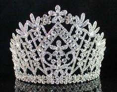 Daisy clear austrian crystal rhinestone tiara crown bridal prom pageant  t1861. Wholesale Hair AccessoriesBridal ... afd1c96f1c48