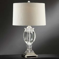 """Transitions Star Field 27"""" H Table Lamp with Empire Shade"""