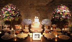 Tendência de decoração de mesa para casamento 9