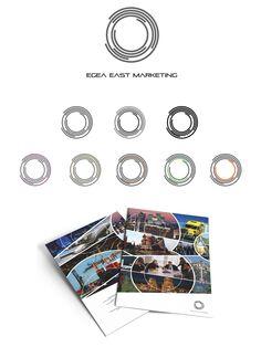 Система логотипов для «Egea East Marketing» – Разработка системы логотипов и дизайна фирменной папки для логистической компании «Egea East Marketing»