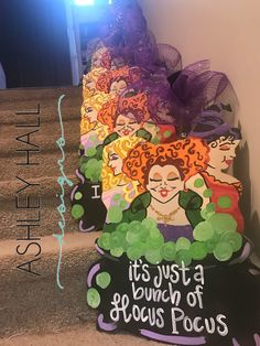 Excited to share this item from my #etsy shop: Hocus pocus sanderson sister halloween door hanger