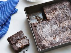 Caramel Brownies : Ree Drummond adds dulce de leche to her chocolate brownies and swirls through the batter with a knife to create ribbons of caramel goodness. When they're warm the brownies will seem overly gooey and soft, but they will firm up as they cool.