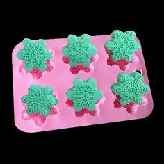 1pcs Snowflake Shape High Temperature Silicone Mold