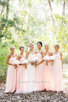 Custom Full length Empire Bridesmaid Dress Simple by SanctSophia, $99.00