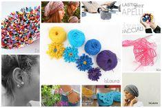 Fiore colorato a crochet – Is laura