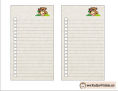 To Do Lists featuring Bear