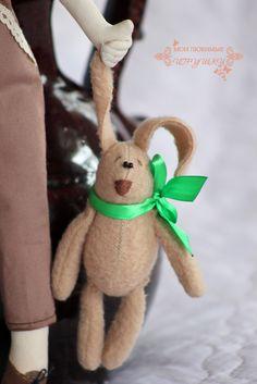 текстильная кукла - cloth doll