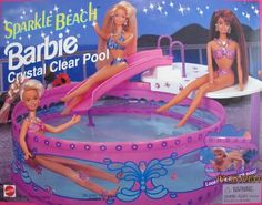 I have a pic of by bro playing with this with me! Barbie 80s, Barbie Party, Barbie Dream, Vintage Barbie Dolls, Barbie House, Barbie World, Barbie Stuff, Doll Stuff, Vintage Toys