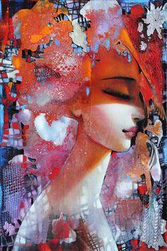 Painting by the Greek artist Ira Tsantekidou