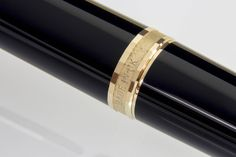 PARKER 75 Premier Noir Fountain Pen (Epoxy, gold-plated trim) - 1983 / UK