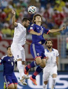 Japón y Grecia empatan a cero en la copa mundial