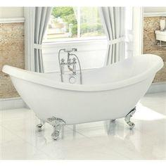 Balmoral Double Slipper Bath