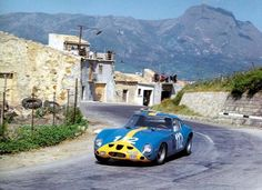 Ulf Norinder - Ferrari 250 GTO - 1964 Targa Florio Sports Car Racing, Sport Cars, Race Cars, F1 Racing, Ferrari Racing, Ferrari Car, Le Mans, Nascar, Course Automobile