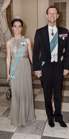 Princess Marie wore her Lily Tiara for the very first time in February 2014
