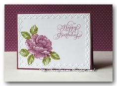 Stampin Up Card Happy Birthday