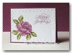 Stampin Up Card Happy Birthday