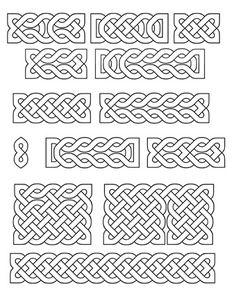 Printable Small Celtic Knots