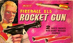 Fireball XL5 Rocket Gun: Merit (England), 1963