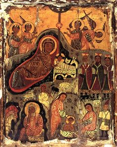 Nativity icon,  St Catherine's Monastery, Sinai