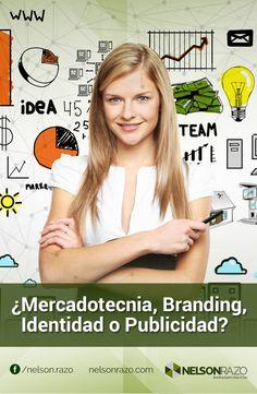 ¿Mercadotecnia, Branding, Identidad o Publicidad?  Para que no te confundas y porque es muy importante para cualquier profesionista, empresario o figura pública, esta vez analizamos los conceptos de #Mercadotecnia e #Identidad, sus diferencias y relaciones.