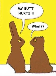 Funny Easter Bunny's