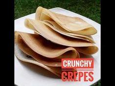 RESEP Crepes Renyah * Crunchy Crepes Recipe - YouTube