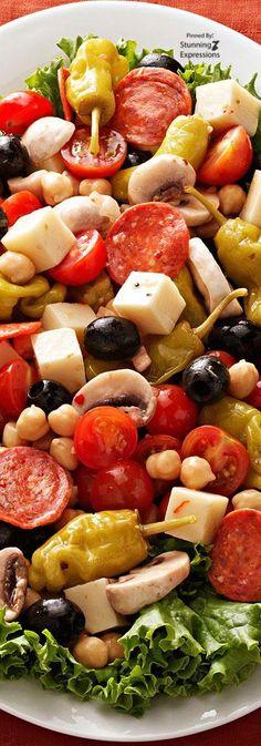 Antipasto Platter | #Italy #Italian #recipes