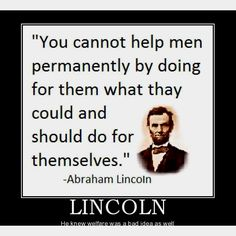 From one of our most respected presidents