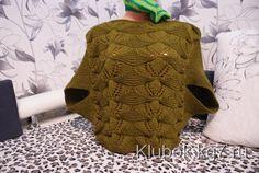 Пуловер с надвязанными рукавами | Клубок