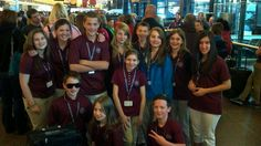 Garrett and his delegation getting ready to leave for France, Italy and Greece.