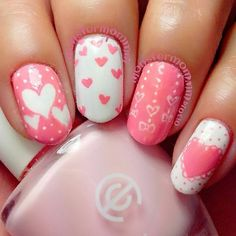VALENTINE by monstermommm #nail #nails #nailart