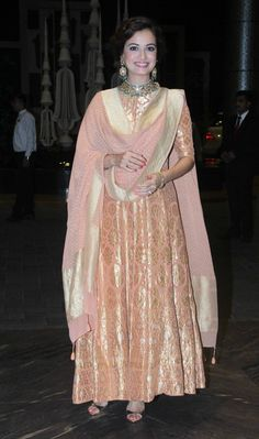Dia Mizra at Shahid Kapoor Wedding Reception