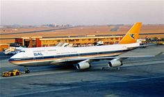 ZS-SAX 747-400 South African Airways JNB
