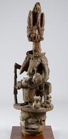 Africa   Epa mask from the Yoruba people of Nigeria   Wood   1.51 cms