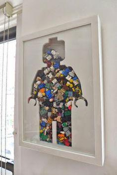 Monsieur Récup' donne aux rebuts, une autre issue ❯ Idées et détournements d'objets depuis 2009: Mon bonhomme LEGO