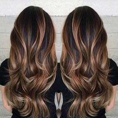 Gorgeous long brunette hair with rich blonde balayage hair color by Janai Hartt… Hair goals Hair Color Balayage, Ombre Hair, Haircolor, Balayage Brunette Long, Blonde Ombre, Balayage Bronde, Balayage On Black Hair, Pastel Hair, Balayage Asian Hair