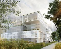 """Le projet de ...MARC MEMRAM.. désigné pour un """"immeuble-pont"""" face à la Bibliothèque nationale de France - Actualités - Paris Rive Gauche"""