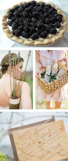 Hunger Games Wedding Inspiration  #wedding #inspiration #hungergames