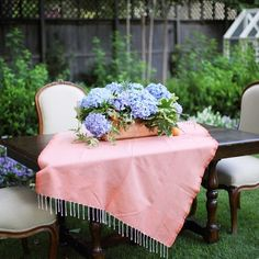 Bring the indoor furniture outside to dine alfresco!