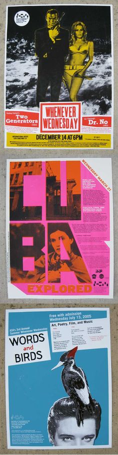 INSTITUTE OF CONTEMPORARY ART http://www.printliberation.com #pink #typography #graphic #design #contemporary #art