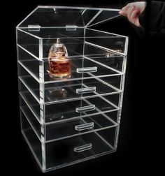 Amazon.com: Hunnt® 24 Stand Trapezoid Clear Lipstick Lotion Makeup Cosmetic  Holder Storage Display Stand: Beauty | Beauty | Pinterest | Display Stands,  ... Part 97