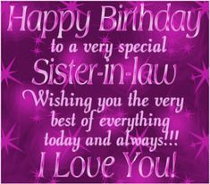 Funny happy birthday sister quotes beautiful 44 Ideas for 2019 Happy Birthday Sister Inlaw, Sister Birthday Quotes, Happy Birthday Fun, Funny Birthday, Birthday Gifs, Birthday Bash, Birthday Wishes And Images, Birthday Wishes Quotes, Happy Birthday Messages
