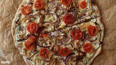 """Kovászos"" pizza | Nosalty Vegetable Pizza, Drink, Vegetables, Eat, Food, Beverage, Essen, Vegetable Recipes, Meals"